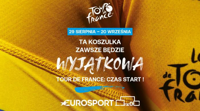 Rozpoczyna się wyścig kolarski Tour de France. Transmisje w Eurosporcie