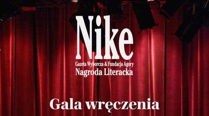 Finał Nagrody Literackiej Nike na Wyborcza.pl i w TVN24