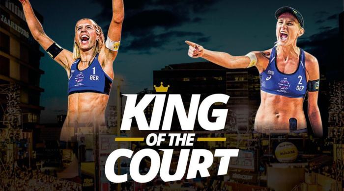 Międzynarodowy turniej w siatkówkę plażową King of the Court w Sportklubie