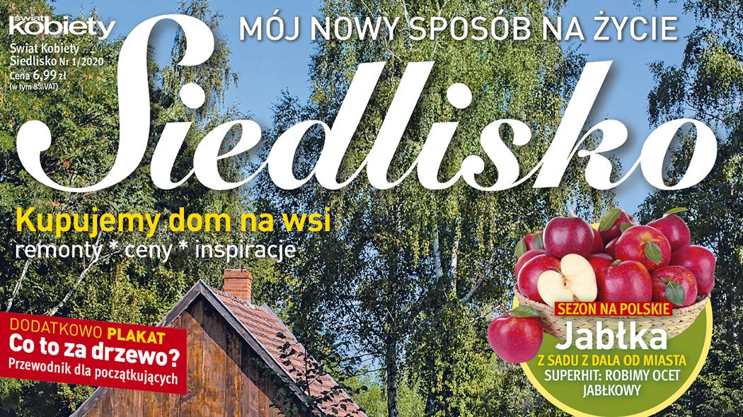 """""""Siedlisko"""" – nowy magazyn Wydawnictwa Bauer"""