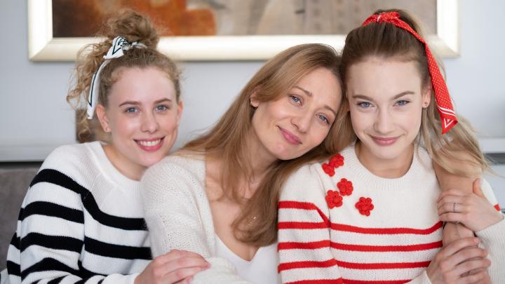 Zosia, Agnieszka i Zuza