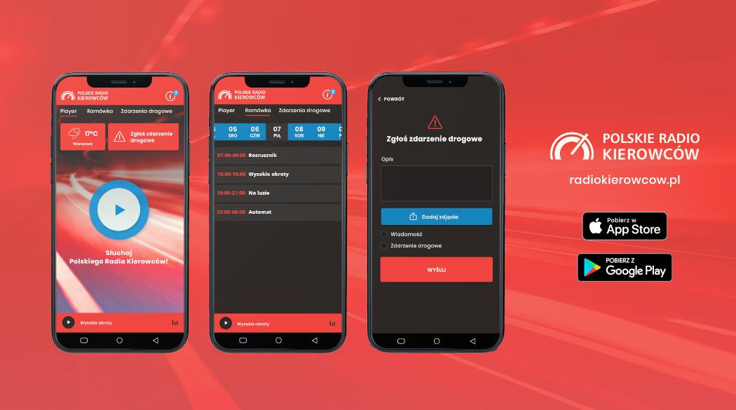 Aplikacja Polskie Radio Kierowców
