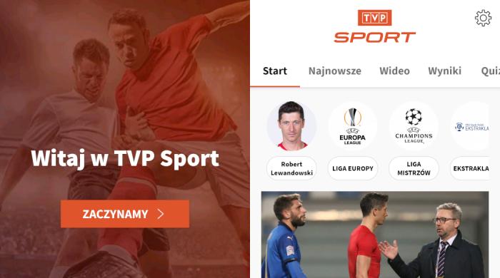 """Nowa aplikacja mobilna TVP Sport. """"Tak dobrej aplikacji jeszcze w Polsce nie było"""""""