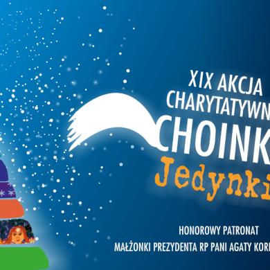 """19. edycja akcji """"Choinki Jedynki"""""""