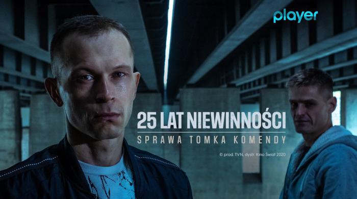 """""""25 lat niewinności. Sprawa Tomka Komendy"""" od 11 grudnia w Playerze"""