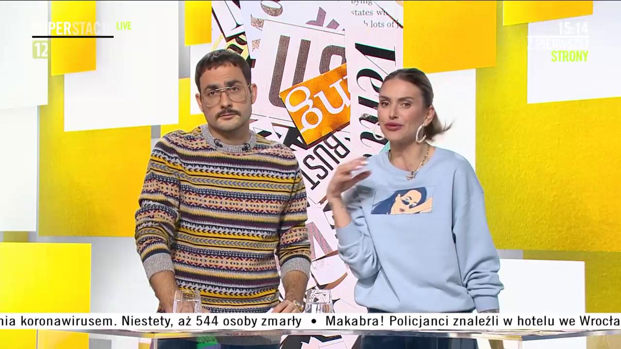 Adam Strycharczuk i Monika Goździalska