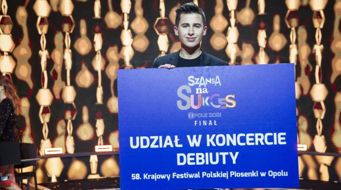 """Łukasz Brodowski wygrał """"Szansę na Sukces. Opole 2021"""""""
