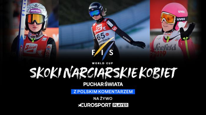 Skoki narciarskie kobiet w Eurosporcie i Eurosport Playerze