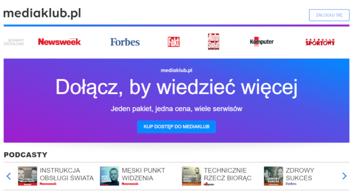 Rusza platforma integrująca cyfrowe treści premium Ringier Axel Springer Polska