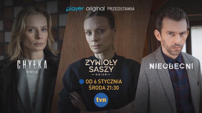 Pierwsze odcinki produkcji Player Original w styczniu w TVN