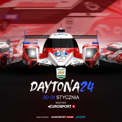 Wyścig Daytona24 z udziałem Roberta Kubicy na żywo w Eurosporcie i Player.pl