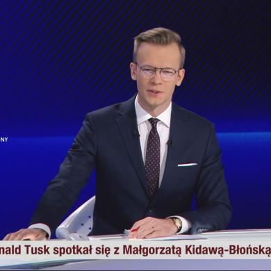 """Przemysław Białkowski w gronie stałych prowadzących """"Wydarzenia Wieczorne"""""""