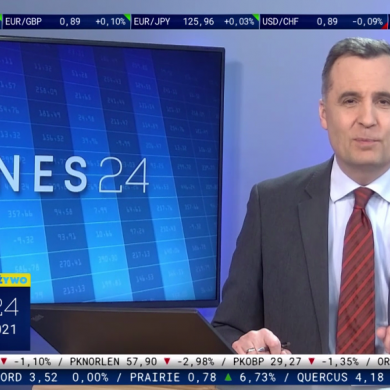 Biznes24 z wieczornym programem na żywo