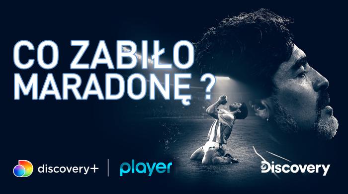 """""""Co zabiło Maradonę"""" – dokument o legendzie piłki nożnej w Discovery Channel i discovery+"""