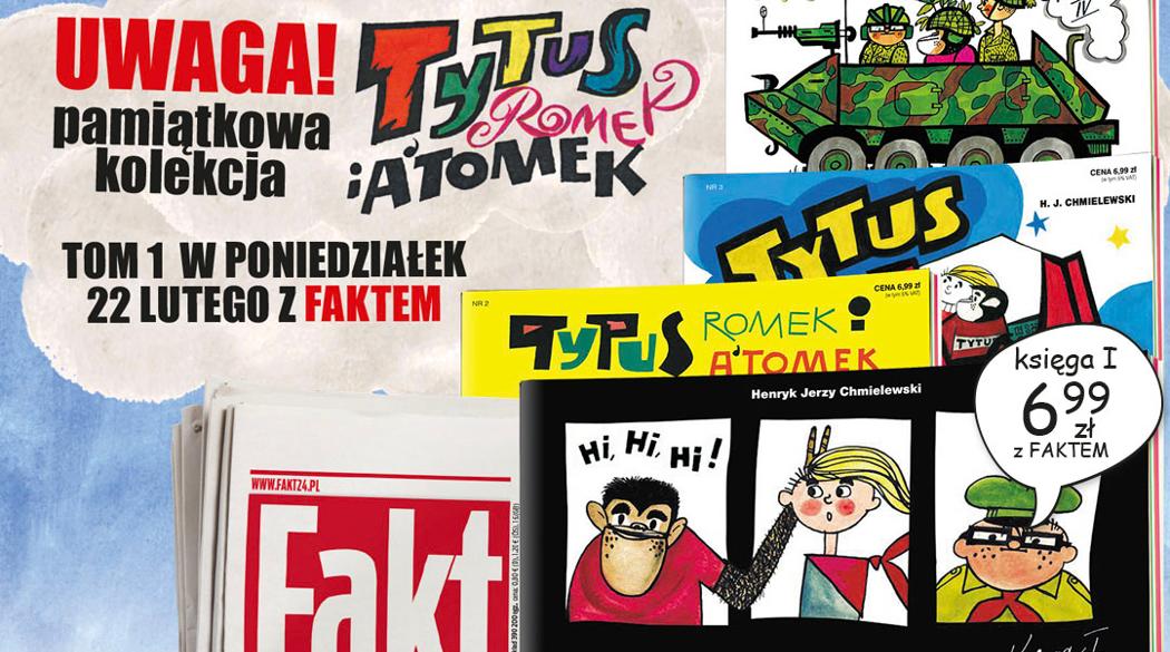 Tytus Romek i A'Tomek z Faktem