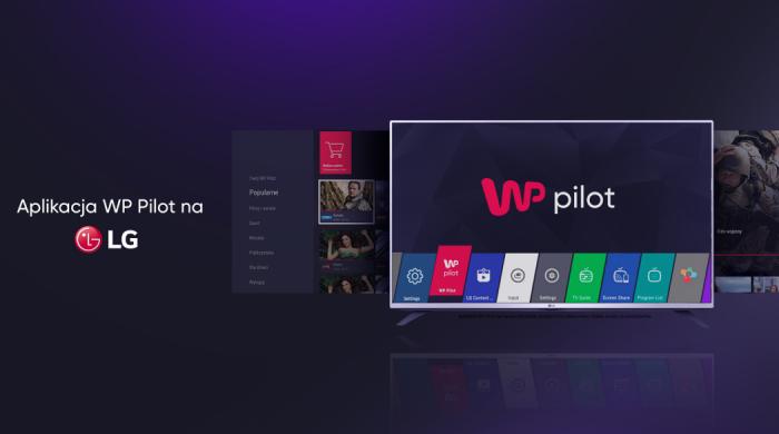 WP Pilot z aplikacją na LG Smart TV (WebOS)