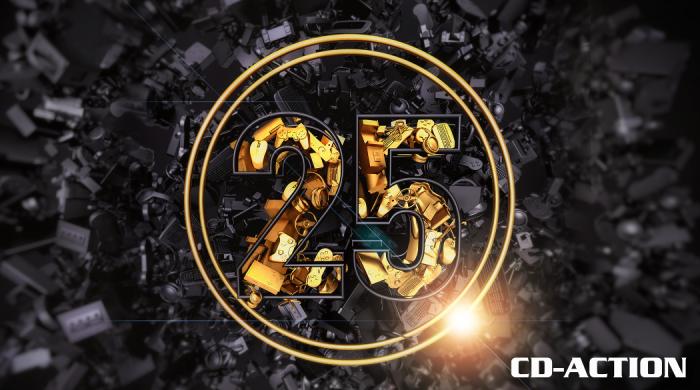 Magazyn CD-Action obchodzi 25. urodziny. Jubileuszowe wydanie już w sprzedaży
