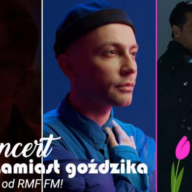 Koncert Krzysztofa Zalewskiego, Mroza i Arka Kłusowskiego z okazji Dnia Kobiet w RMF FM