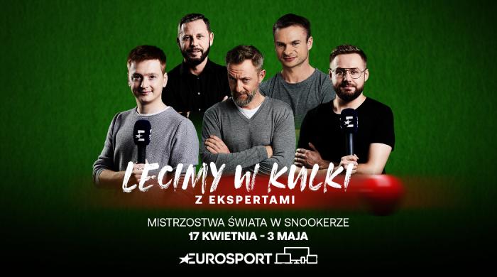 Mistrzostwa świata w snookerze od 17 kwietnia w Eurosporcie