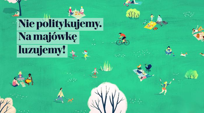 """Gazeta Wyborcza na majówkę – powiększone wydanie dziennika oraz treści cyfrowe pod hasłem """"Nie politykujemy. Na majówkę luzujemy"""""""