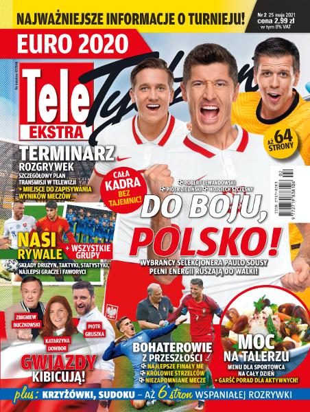 Tele Tydzień Ekstra - Euro 2020 - okładka