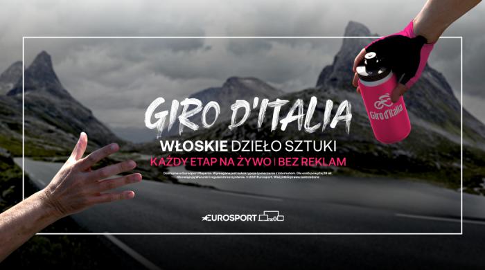 Wyścig kolarski Giro d'Italia od 8 maja w Eurosporcie 1 i Eurosport Playerze