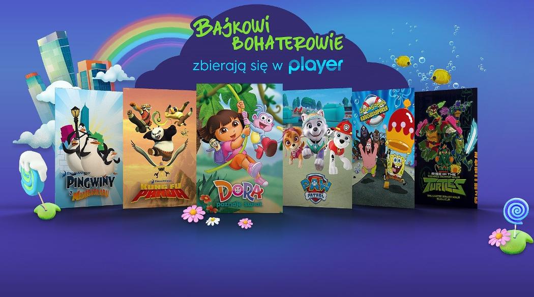 Bajki w Player.pl