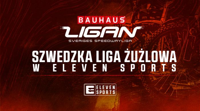 Szwedzka liga żużlowa przez dwa sezony na wyłączność w Eleven Sports
