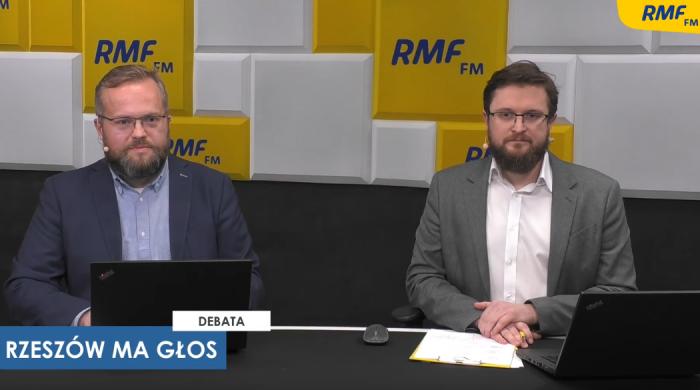 """Debata """"Rzeszów ma głos – 2. starcie"""" w RMF FM i Radiu RMF24.pl"""