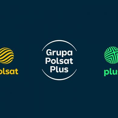 """Nowa identyfikacja wizualna Grupy Polsat Plus. """"Lepsze komunikowanie naszych usług i ich łatwiejsze kojarzenie z nami"""""""