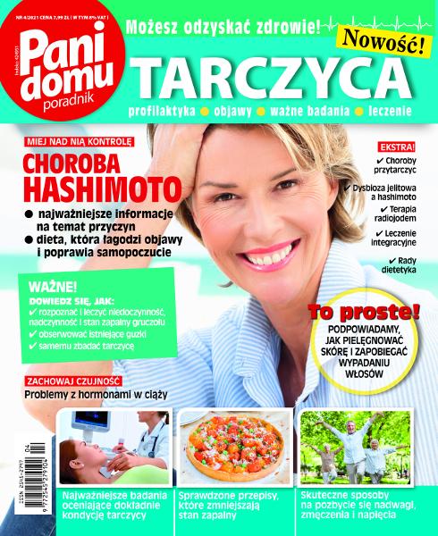 Okładka Pani Domu poradnik - Tarczyca