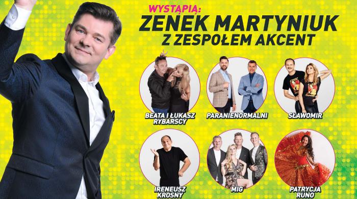 """Zenek Martyniuk, Sławomir na """"Wielkiej zabawie TV Puls w Mrągowie"""""""