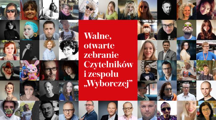 """Otwarte zebranie zespołu Gazety Wyborczej. """"Mocna więź między dziennikarzami a czytelnikami"""""""