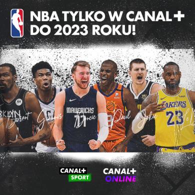 NBA do 2023 roku w Canal+. Hitowe spotkania ze studiem