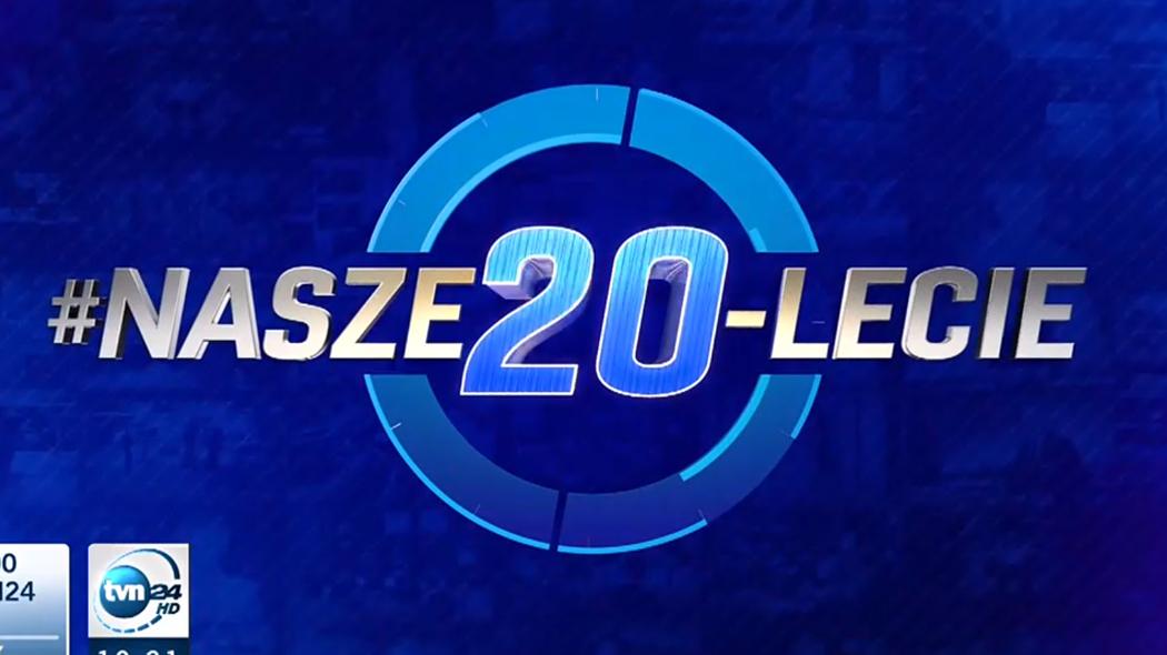 Specjalna ramówka i oprawa TVN24 z okazji 20. urodzin