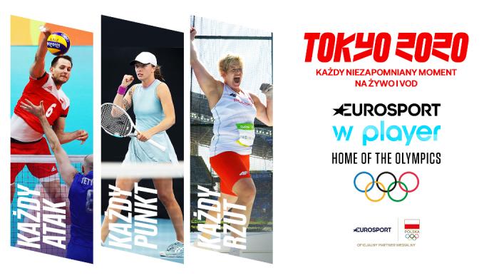 Igrzyska Olimpijskie Tokio 2020 w Eurosporcie na 9 kanałach oraz w stacji 4K