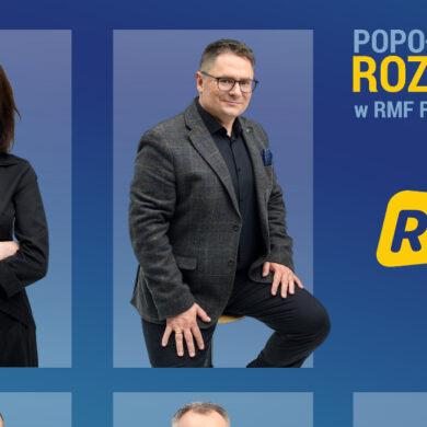 """Mikołajewska, Terlikowski, Tejchman, Salak i Balinowski poprowadzą """"Popołudniową Rozmowę w RMF FM"""""""
