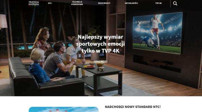 Ruszył specjalny portal Telewizji Polskiej poświęcony zmianom w NTC w 2022 roku