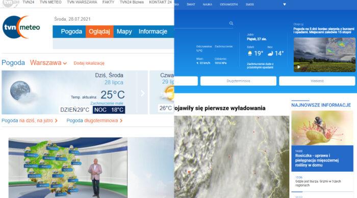 tvnmeteo.pl z odświeżoną stroną internetową
