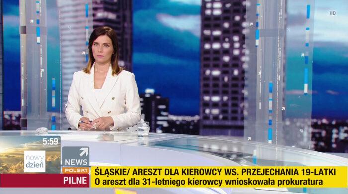 Agata Wojtkowiak z Superstacji do Polsat News
