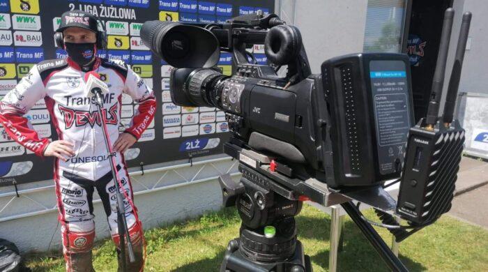 Finał 2. Ligi Żużlowej Landshut Devils – Kolejarz Opole w Motowizji
