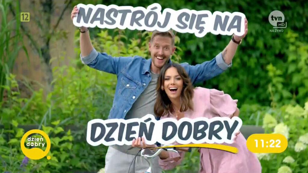 Dzień dobry TVN - Damian Michałowski i Paulina Krupińska