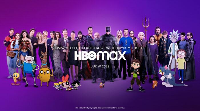 HBO Max zadebiutuje w Polsce w 2022 roku. Zobacz spot promujący nową usługę