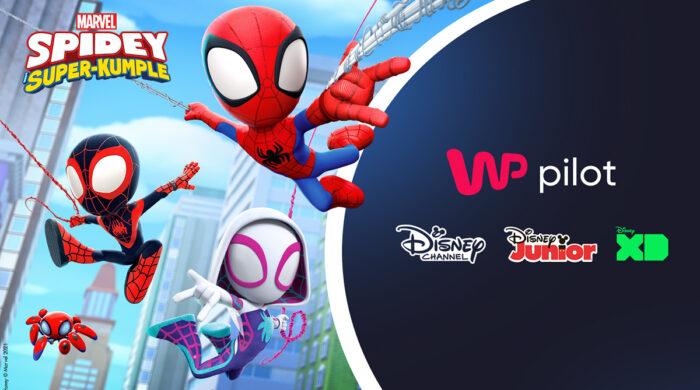 Disney Channel, Disney Junior i Disney XD w WP Pilot