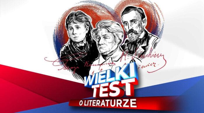 """Rusza nowy sezon cyklu """"Wielki test"""". Na początek uczestnicy sprawdzą swoją wiedzę o literaturze"""
