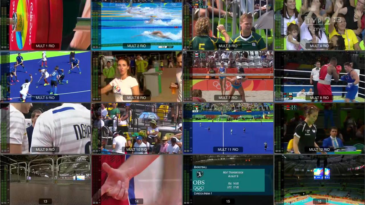 Rio 2016 w TVP