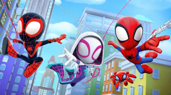 """Serial Marvela dla przedszkolaków – """"Spidey i super-kumple"""" w Disney Junior"""